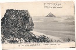 ---- 50 ------ LE MONT SAINT MICHEL  Vue Prise De Tombelaine -  Neuve Excellent état - Le Mont Saint Michel