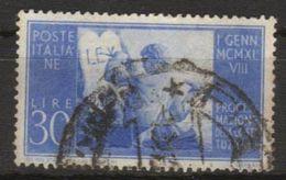1948 - Proclamazione Della Nuova Costituzione - 30 Lire - Sassone N.579 - 6. 1946-.. Repubblica
