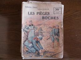 WWI Collection Patrie  Les Pieges à Boches  N° 141 - 1914-18