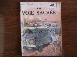 """WWI Collection Patrie  """"La Voie Sacrée """" N° 53 - 1914-18"""