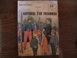 """WWI Collection Patrie """" Souvenirs D'un Prisonnier   """" N° 39 - 1914-18"""