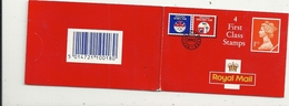 4 FIRST CLASS STAMPS ..ONLY ONE LEFT  !! TWO SCANES ..1992 - Booklets