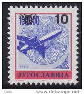 9. Yugoslavia, 1993, Definitive - Postal Service 10 Din, MNH (**) Michel 2622 - 1992-2003 Federal Republic Of Yugoslavia