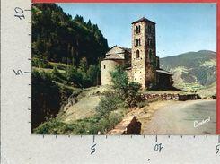 CARTOLINA NV ANDORRA - VALL'S D'ANDORRA - CANILLO - Eglise Romane De Saint Jean De Caselles - 10 X 15 - Andorra