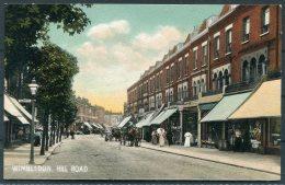 Wimbledon Hill Road Misch & Stock Postcard - Surrey
