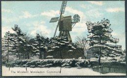 The Windmill, Wimbledon Common Shurey's Publication Postcard - Surrey