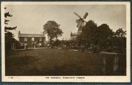 The Windmill, Wimbledon Common . Trim & Co RP Postcard - Surrey
