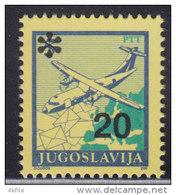 12. Yugoslavia, 1992, Definitive - Postal Service 20 Din, MNH (**) Michel 2568 - 1992-2003 Federal Republic Of Yugoslavia