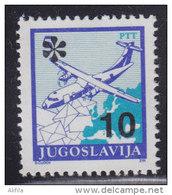 11. Yugoslavia, 1992, Definitive - Postal Service 10 Din, MNH (**) Michel 2567 - 1992-2003 Federal Republic Of Yugoslavia