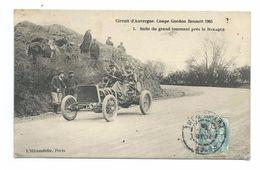 63/ PUY De DOME...Circuit D'Auvergne. Coupe Gordon Bennett 1905. Suite Du Grand Tournant Près LA BARAQUE.. AUTOMOBILE - Frankrijk