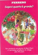 "CARD MODERNA PUBBLICITA' FERRERO""MON CHERI""CILIEGE -FG-N-2-0882-27490 - Publicité"