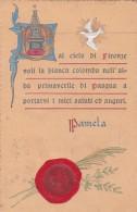 Dal Cielo Di Firenze Voli La Bianca Colomba ... * 6. 4. 1901 - Firenze