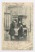 CPA: 75 - PARIS - MARCHANDE DE JOURNAUX - - Petits Métiers à Paris