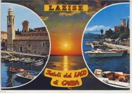 LAZISE - Saluti Dal Lago Di Garda,  Viaggiata - Italy