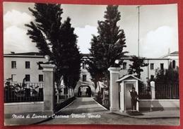 1963 MOTTA DI LIVENZA CASERMA VITTORIO VENETO / Battaglione Genio Pionieri  / Treviso - Italia