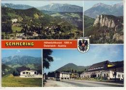 SEMMERING - Mehrfachansicht M. Liechtenstein-Haus, Hotel Erzherzog Johann, Panorama ..... - Semmering