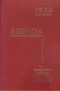 AGENDA 1938  OFFERT PAR LA PHARMACIE JOUBERT À ANGOULEME 16000 - Libros, Revistas, Cómics