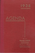 AGENDA 1938  OFFERT PAR LA PHARMACIE JOUBERT À ANGOULEME 16000 - Agende Non Usate