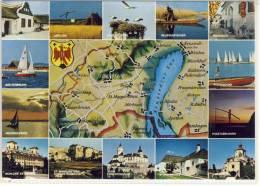 Rund Um Den NEUSIEDLER SEE - Mehrfachansichten , Map, Mapa, Mappa Gel. - Landkarten