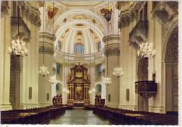 SALZBURG - Dom Inneres Mit Blick Auf Altar, Gel. M. Schönem Werbestempel - Salzburg Stadt