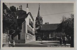 La Tour De Peilz, Place De L'Eglise, Animee - Photo: O. Sartori - VD Vaud