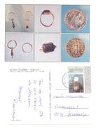 SERBIAN NUMISMATICS  POSTCARD LEDERATA - Coins (pictures)