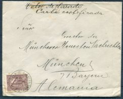 1927 Argentina - Munich, Germany TPO Guillermo Heberle Cover - Lettres & Documents