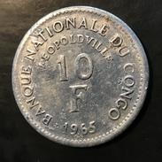 Congo 10 Francs 1965 - Congo (República Democrática 1964-70)