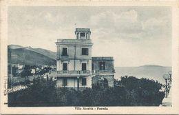 Z3651 Formia (Latina) - Vindicio - Villa Accetta / Viaggiata 1931 - Altre Città