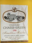 4685 - Château Chasse-Spleen 1984 Moulis En Médoc - Bordeaux