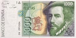 Spain 1.000 Pesetas, P-163 (1992) UNC - [ 4] 1975-…: Juan Carlos I.