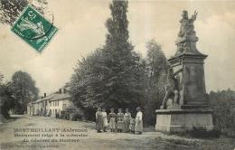 MONTMEILLANT MONUMENT ERIGE A LA MEMOIRE DU GENERAL DU MERBION - France