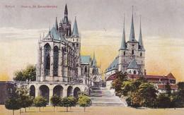 AK Erfurt - Dom Und Severikirche (30006) - Erfurt
