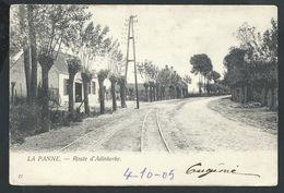 +++ CPA - DE PANNE - Route D'Adinkerke  // - De Panne