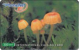 Thailand Phonecard Thaicard CAT Kat. 4732 Thai Mushroom - Thaïlande