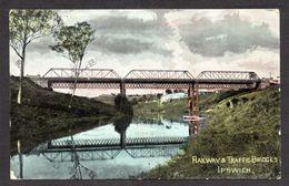 AS906) Ipswich, Queensland - Railway & Traffice Bridges -  Posted 190? - Otros