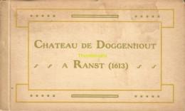 CARNET 16 CPA CHATEAU DE DOGGENHOUT A RANST SALON INTERIEUR .... - Ranst
