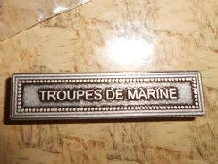 Agrafe Troupe De Marine TDM - France