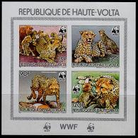 O0052 UPPER VOLTA 1984, IMPERF  WWF Cheetah, MNH - Non Classificati