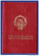 Passport/ Passeport/ Reisepass - JUGOSLAVIA/ YUGOSLAVIA // 1980  Beograd - Visa To Greece . Revenues Stamps - Vieux Papiers