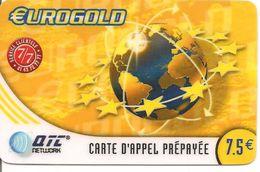 CARTE-PREPAYEE-7.5€-NETWORK-QTC-EUROGOLD-31/05/2004-TBE - Autres Prépayées