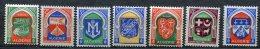 3753  - ALGERIE  N° 337/7F **  Armoiries De Villes    1956     SUPERBE - Neufs