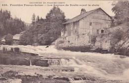 LES RAPIDES DU DOUBS AVANT LA CHUTE/FRONTIERE FRANCO SUISSE (dil323) - Other Municipalities