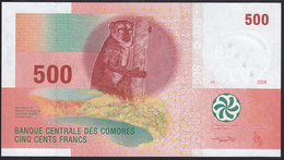 Comoros 500 Francs 2006 P15b UNC - Comoros