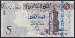 Libya 5 Dinar 2015 P81 UNC - Libya