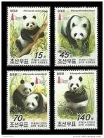 North Korea 2005 Mih. 4920/23 Fauna. Panda (with Overprint Taipei 2005) MNH ** - Korea (Noord)