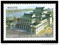 North Korea 2009 Mih. 5451 Reconstructed Pyongyang Grand Theatre MNH ** - Korea, North