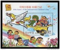 North Korea 2010 Mih. 5600 (Bl.769I) International Children's Day (overprint Bangkok 2010) MNH ** - Korea, North