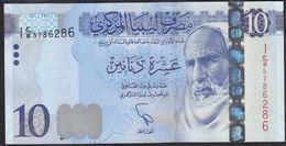 Libya 10 Dinar 2015 P82  UNC - Libye