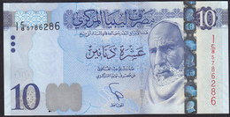 Libya 10 Dinar 2015 P82  UNC - Libya